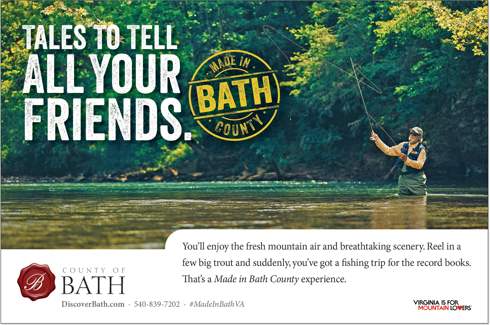 Bath County Tales to Tell All Your Friends Ad