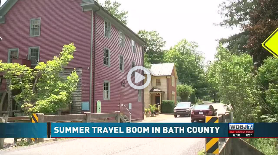 Bath County video from WDBJ7